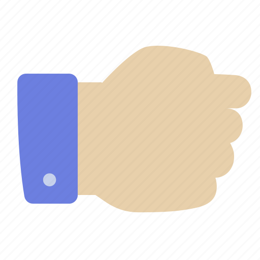 fist, hand, holding icon