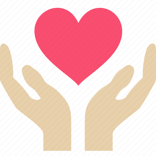 care, love, save icon