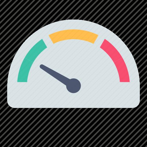 meter, speed, traffic icon