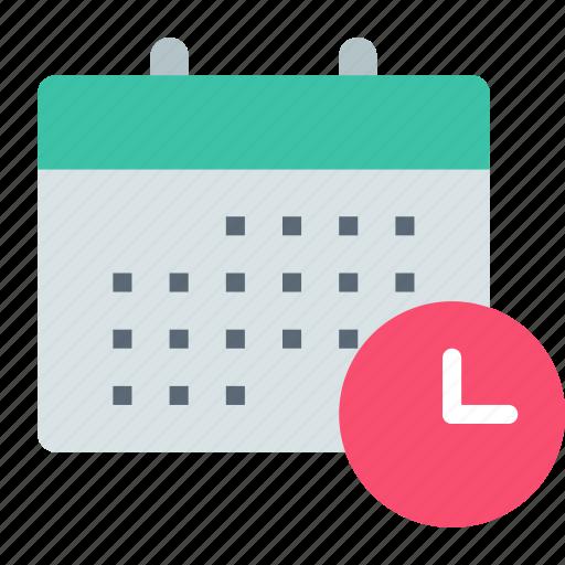 calendar, date, history icon
