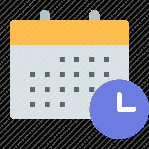 Calendar, history, schedule icon - Download on Iconfinder