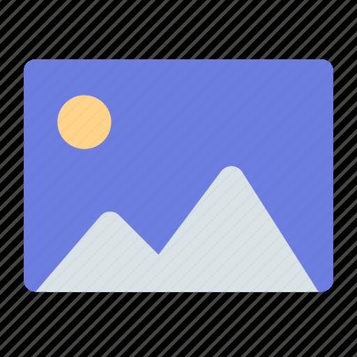 album, image, photo icon