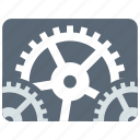 adjustment, configuration, gears, options, preferences, settings, tuning icon
