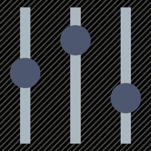 adjustment, controls, tuning icon