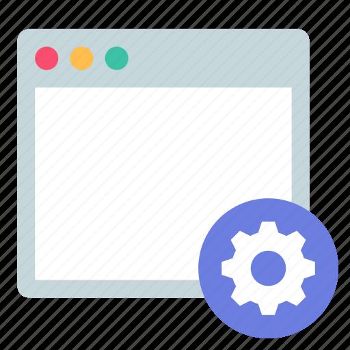 app, settings, window icon
