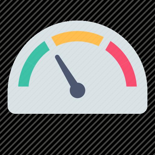 measure, speed icon