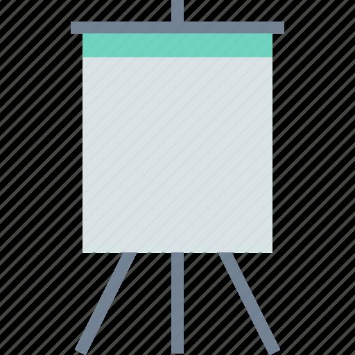 board, painting, presentation icon