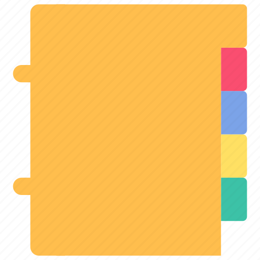 folder, label icon