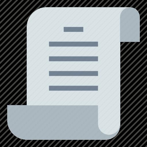 document, file, script icon