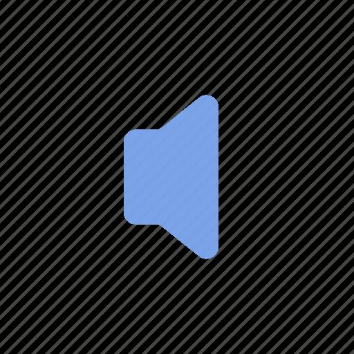 mute, sound, speaker icon