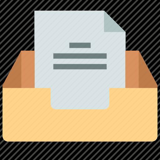 email, inbox, mailbox icon