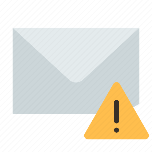 alert, email, mail icon