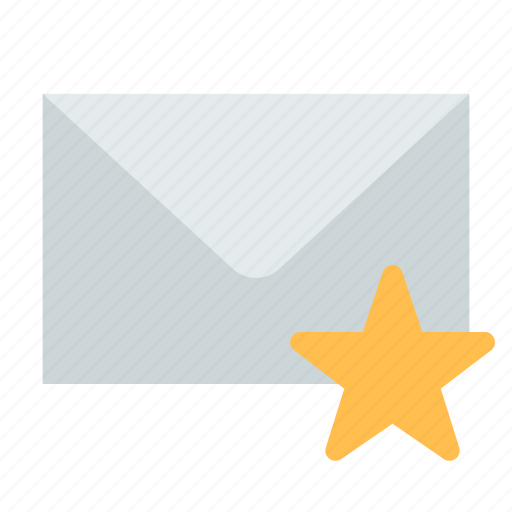 email, favorite, mail icon
