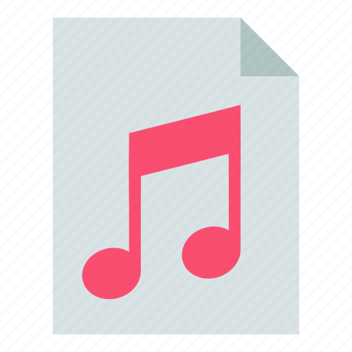 File, music, sound icon - Download on Iconfinder