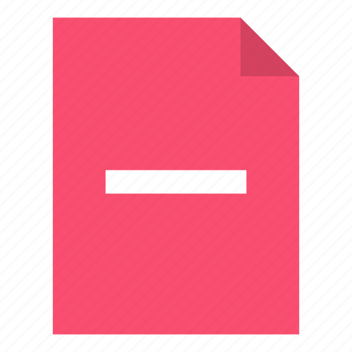 Delete, document, file icon - Download on Iconfinder