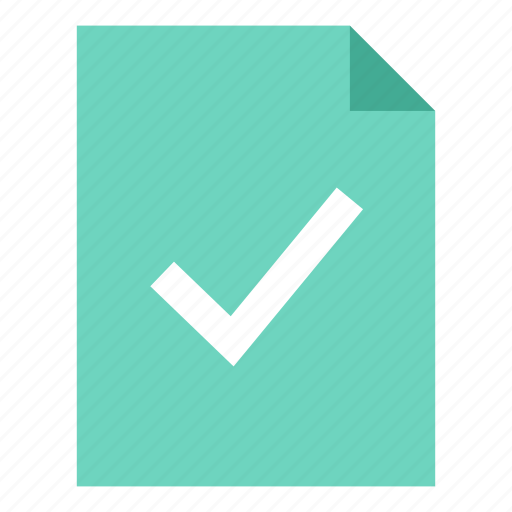 document, file, ready icon