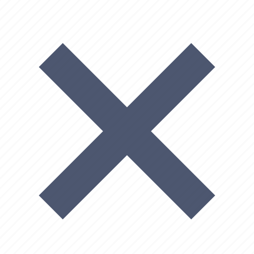 Close, delete icon - Download on Iconfinder on Iconfinder
