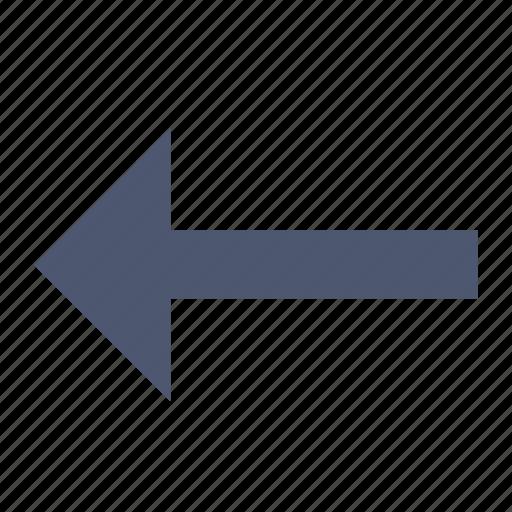 arrow, left, prev icon