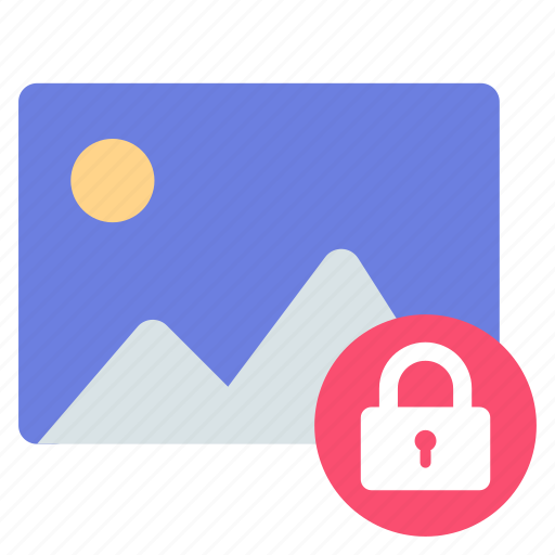 lock, photo, private icon