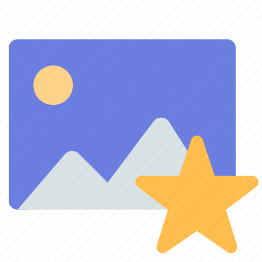 favorite, gallery, photo icon