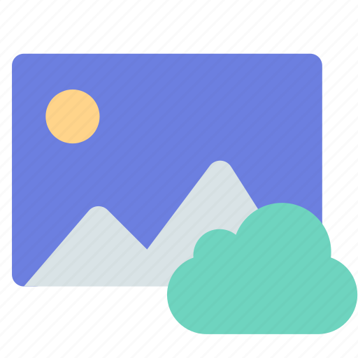 cloud, gallery, photo icon