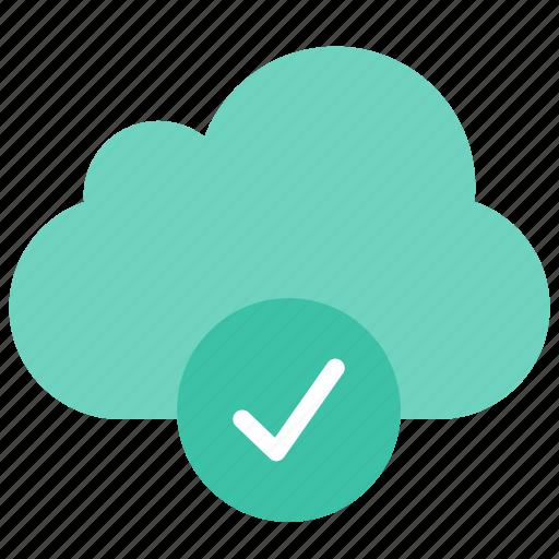 cloud, ready icon