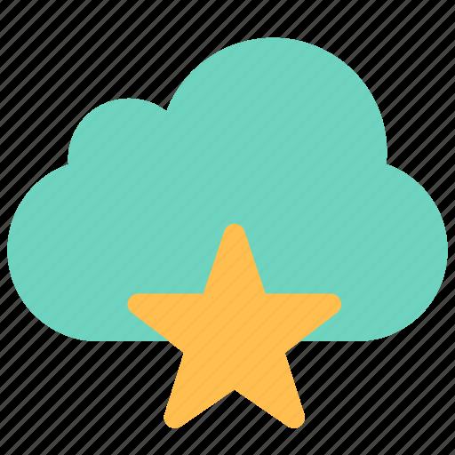 cloud, data, favorite icon
