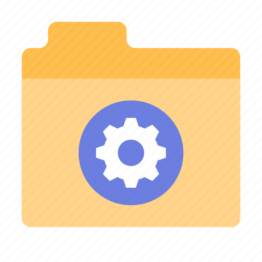 files, folder, options icon