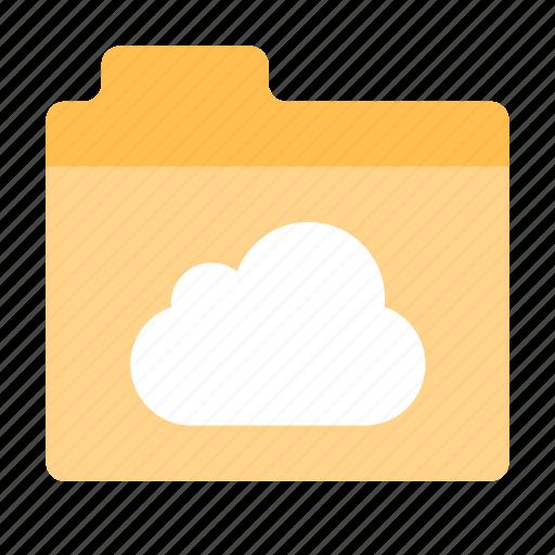 Cloud, folder, drive icon - Download on Iconfinder