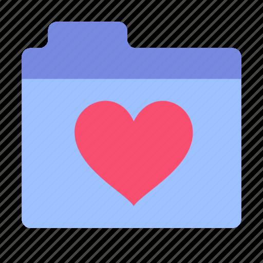 favorite, folder, like icon