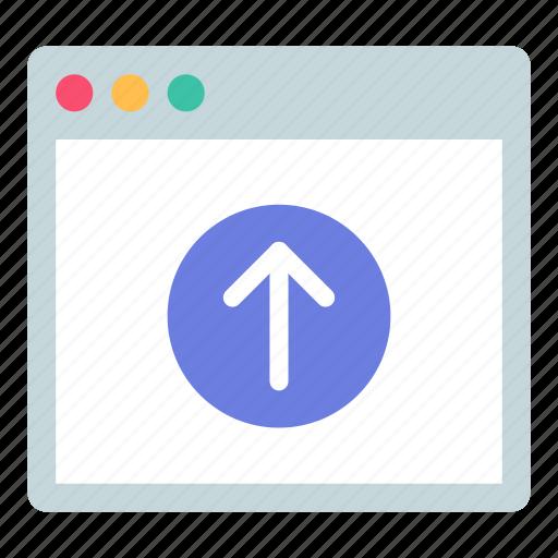 app, import, upload icon
