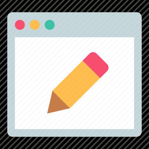 app, edit, editor icon