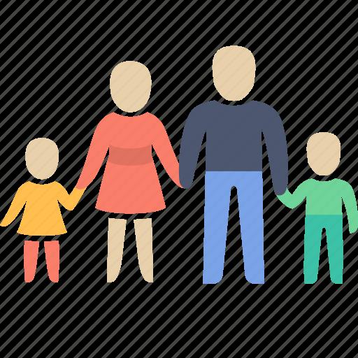 child, children, family icon