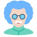 assistant, avatar, doctor, einstein, mad professor, scientist, tester icon