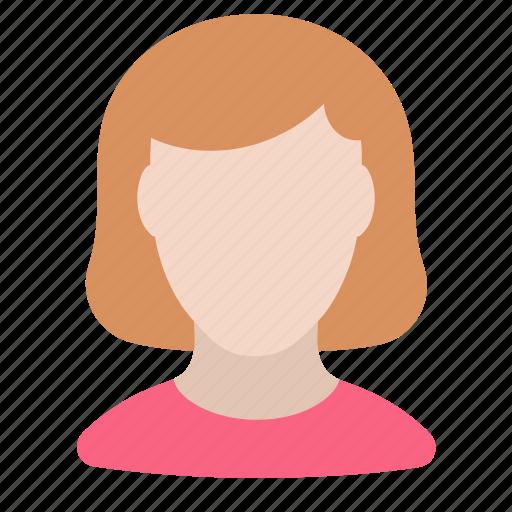 human, person, woman icon