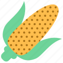 corn, food, vegetable icon