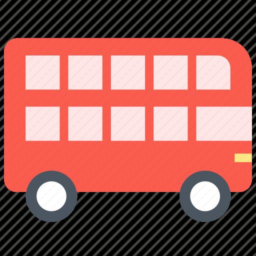 bus, london, transport icon