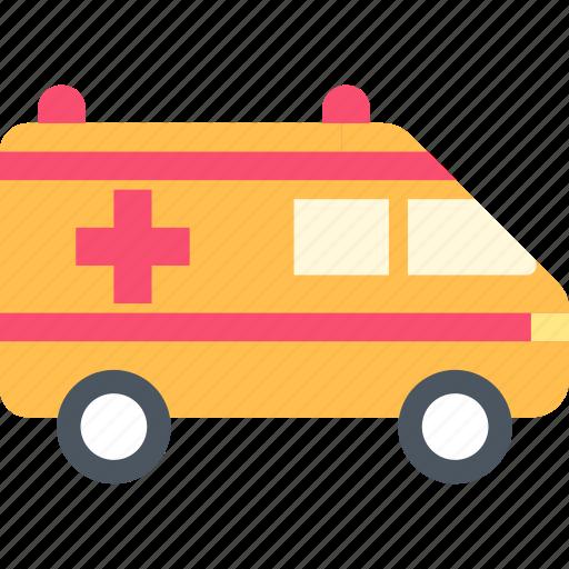 aid, ambulance, transport icon