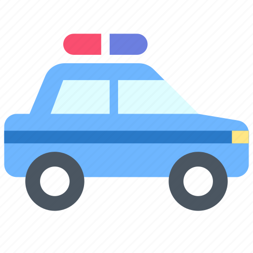 police, transport, vehicle icon