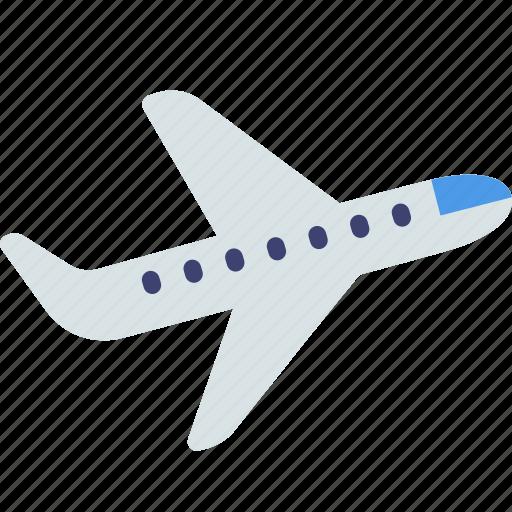 plane, takeoff, travel icon