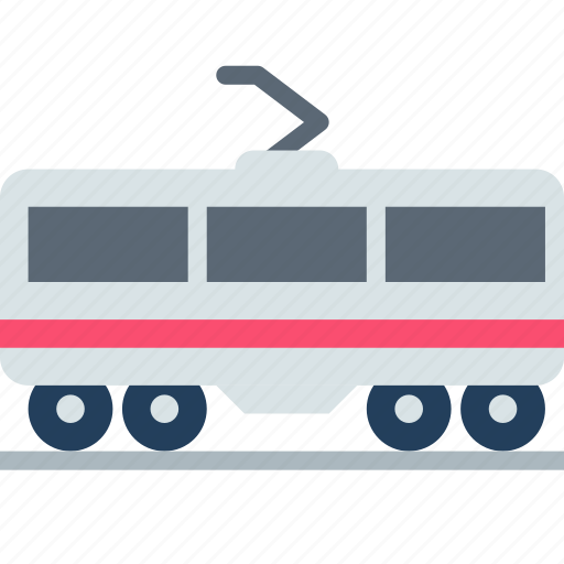 passenger, railway, train icon