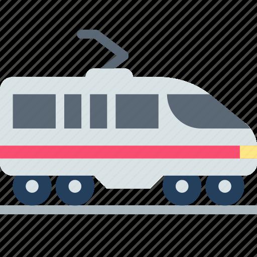 railway, suburban, train icon