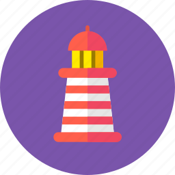 building, guidance, guide, lighthouse, nautical, navigation, psychology icon
