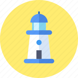 building, lighthouse, psychology icon