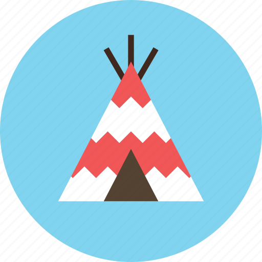 camp, culture, home, indian, tent, wigwam icon