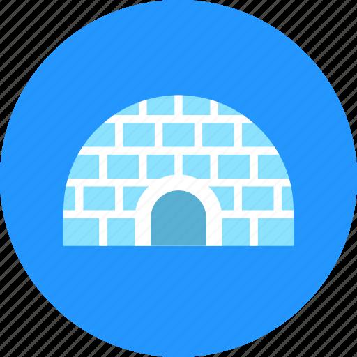 eskimos, house, ice, icehouse, igloo icon