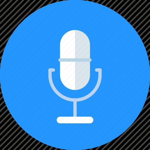 audio, mic, record icon