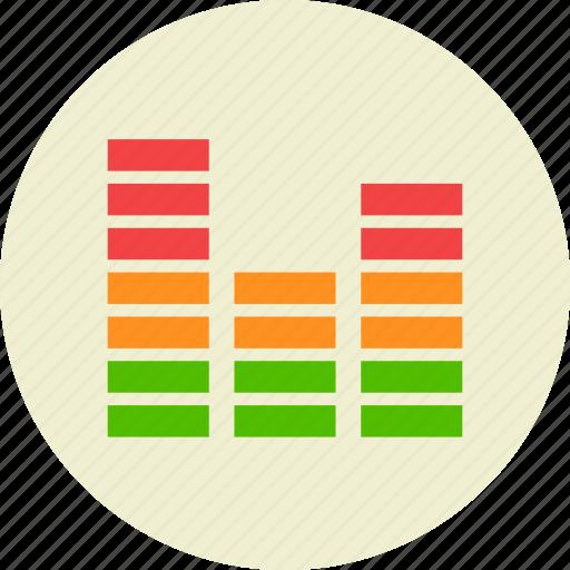 audio, equalizer, music, sound icon