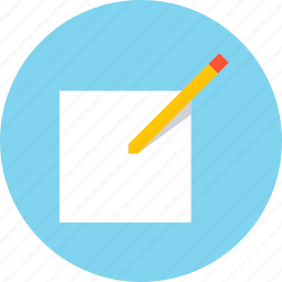 compose, draft, draw, edit, reply, write icon
