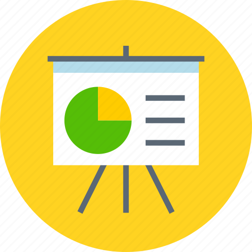 analytics, board, deck, presentation, promo, statistics, stats icon
